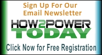 Signup for our newsletter How2Power Today