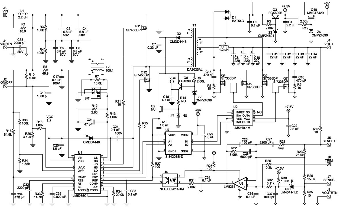 Digital Isolators A Space Saving Alternative To Gate Drive Figure 2 H Bridge Circuit Half Dc Converter Schematic Click Here For An Enlarged View